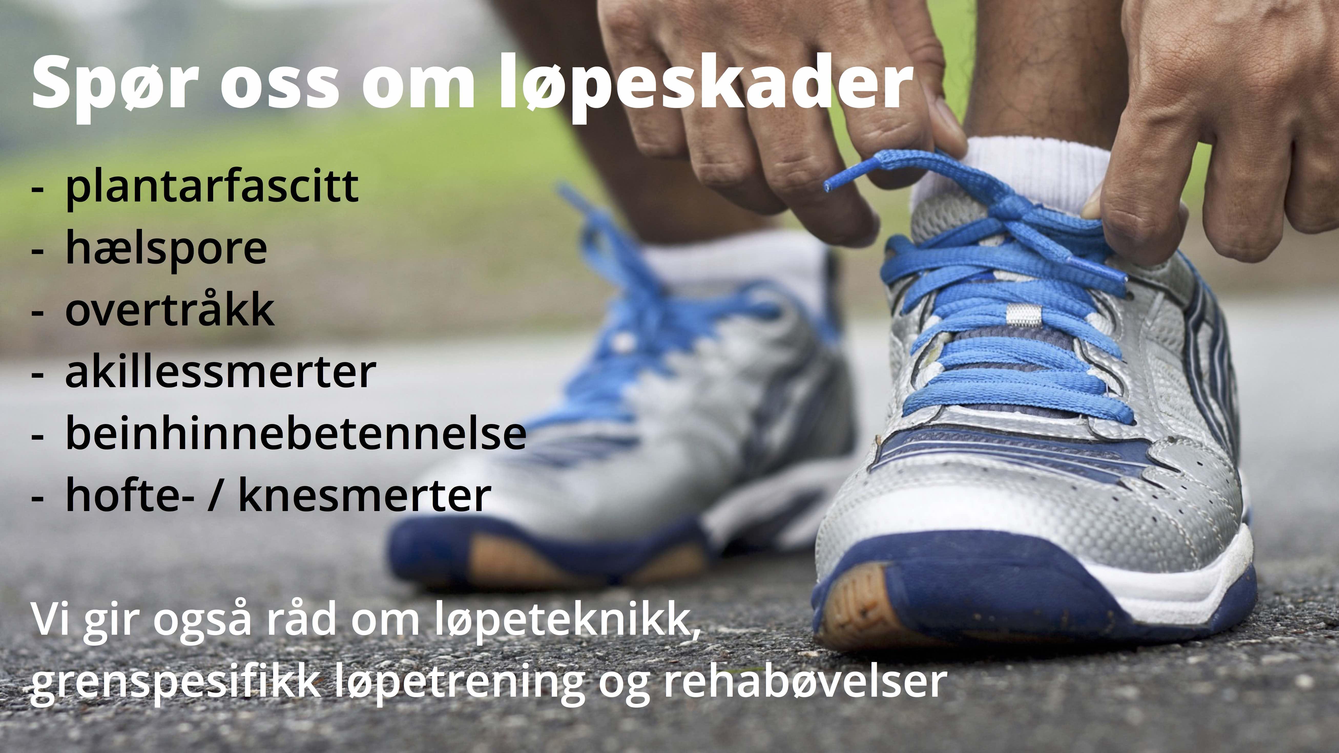 Idrettsskader løpeskader