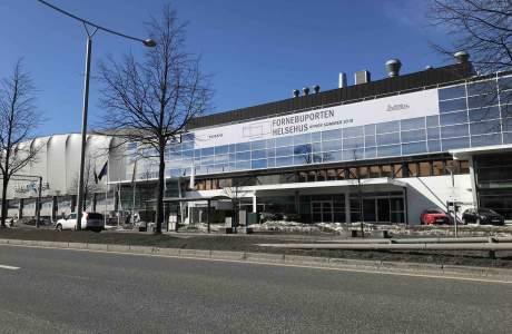 Rygg og Rehab Fornebu Fasade