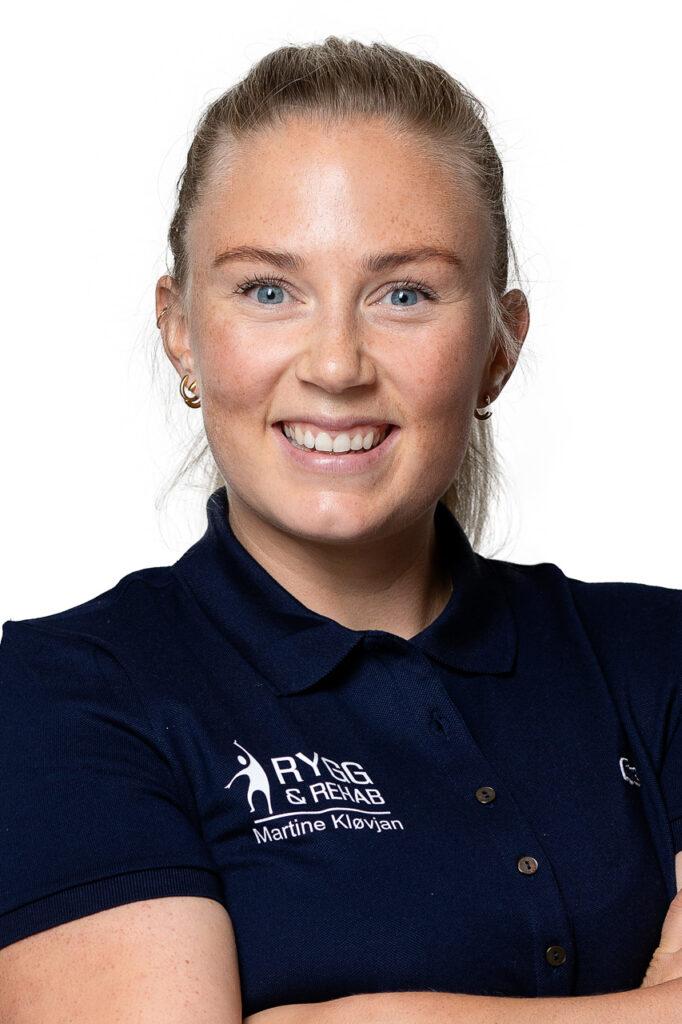Fysioterapeut Martine Kløvjan