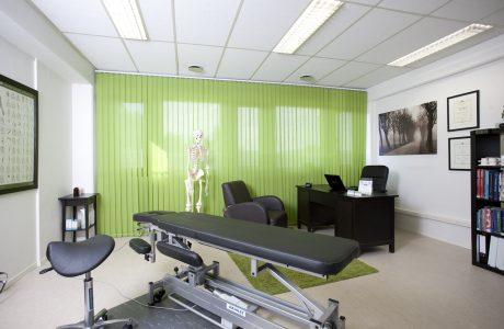 Rygg og Rehab Heggedal Behandlingsrom