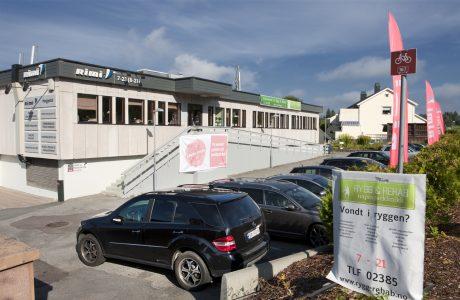Rygg og Rehab Heggedal Fasade
