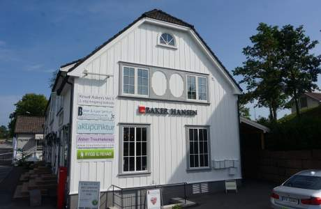 Rygg og Rehab Asker Fasade