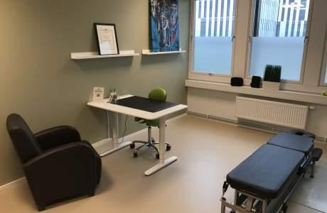 Rygg og Rehab Fornebu Behandlingsrom