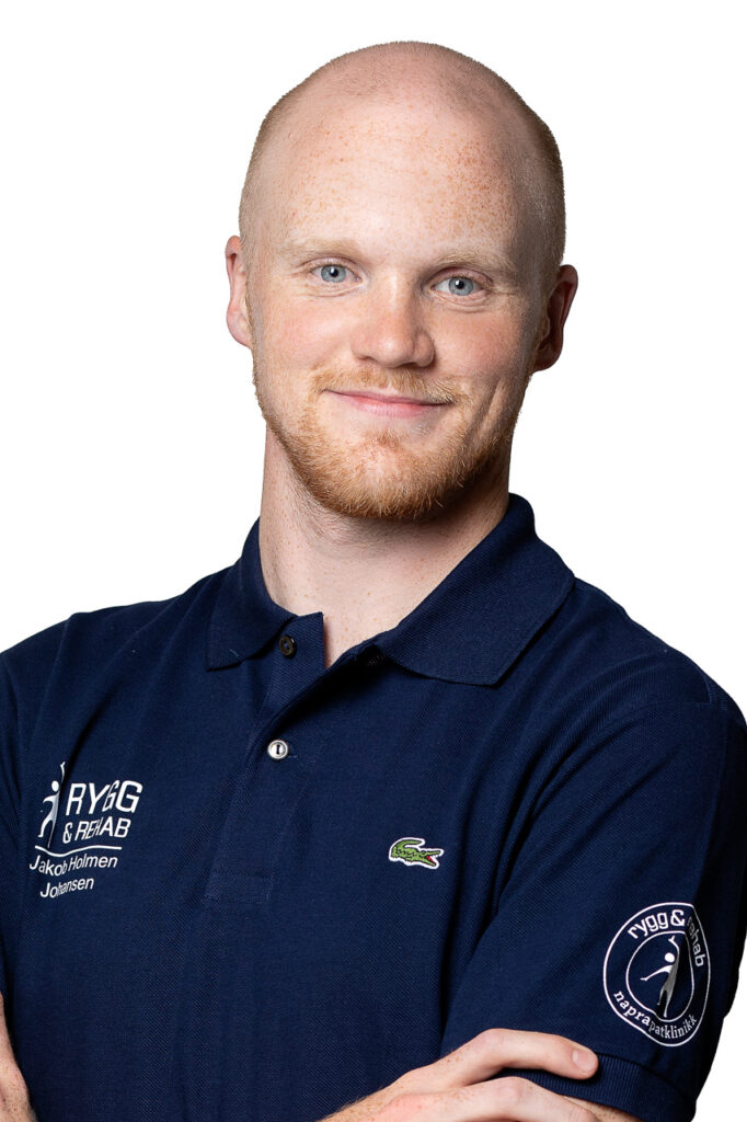 Osteopat Jakob Holmen Johansen