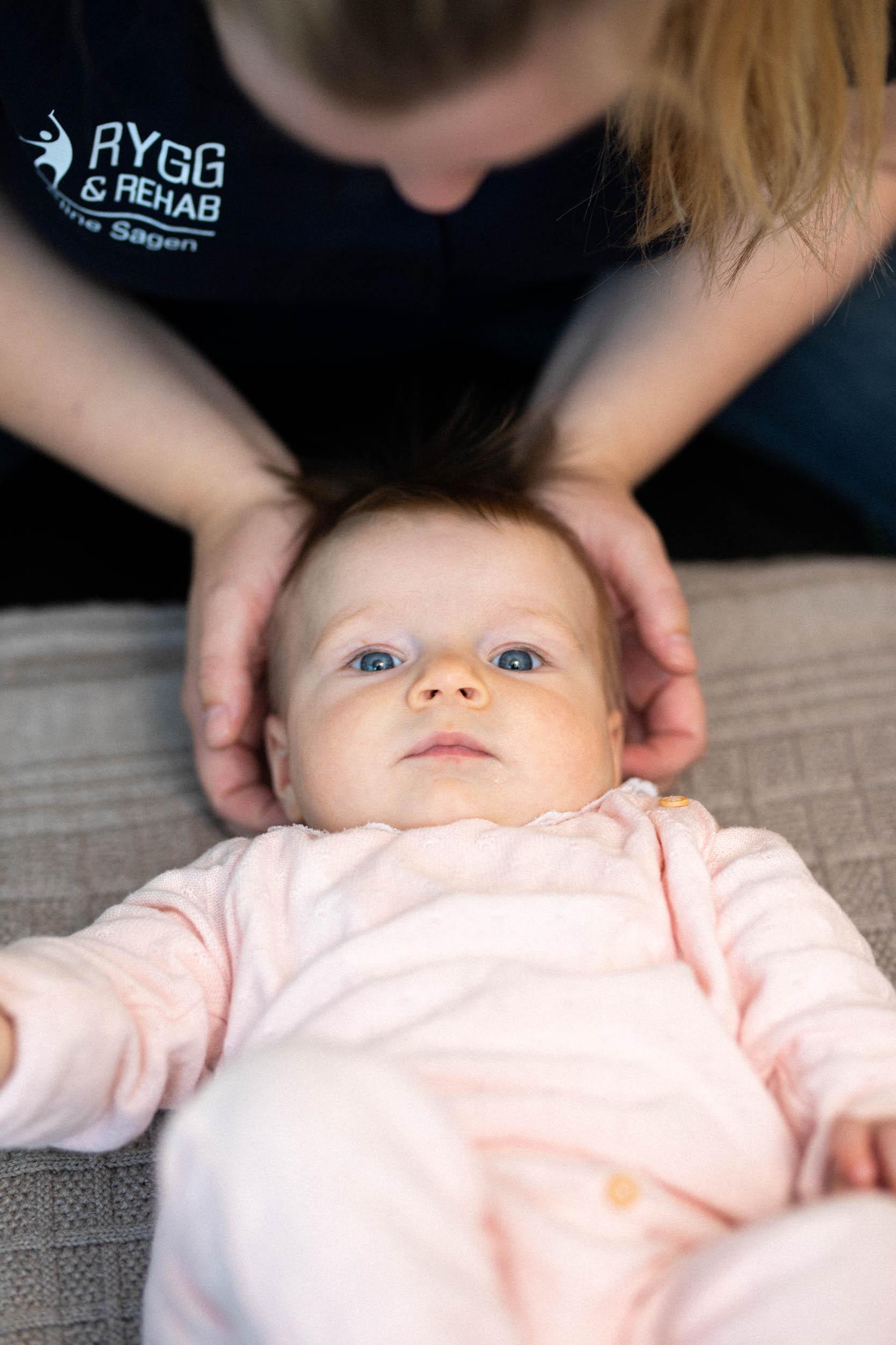 behandling av barn nakke