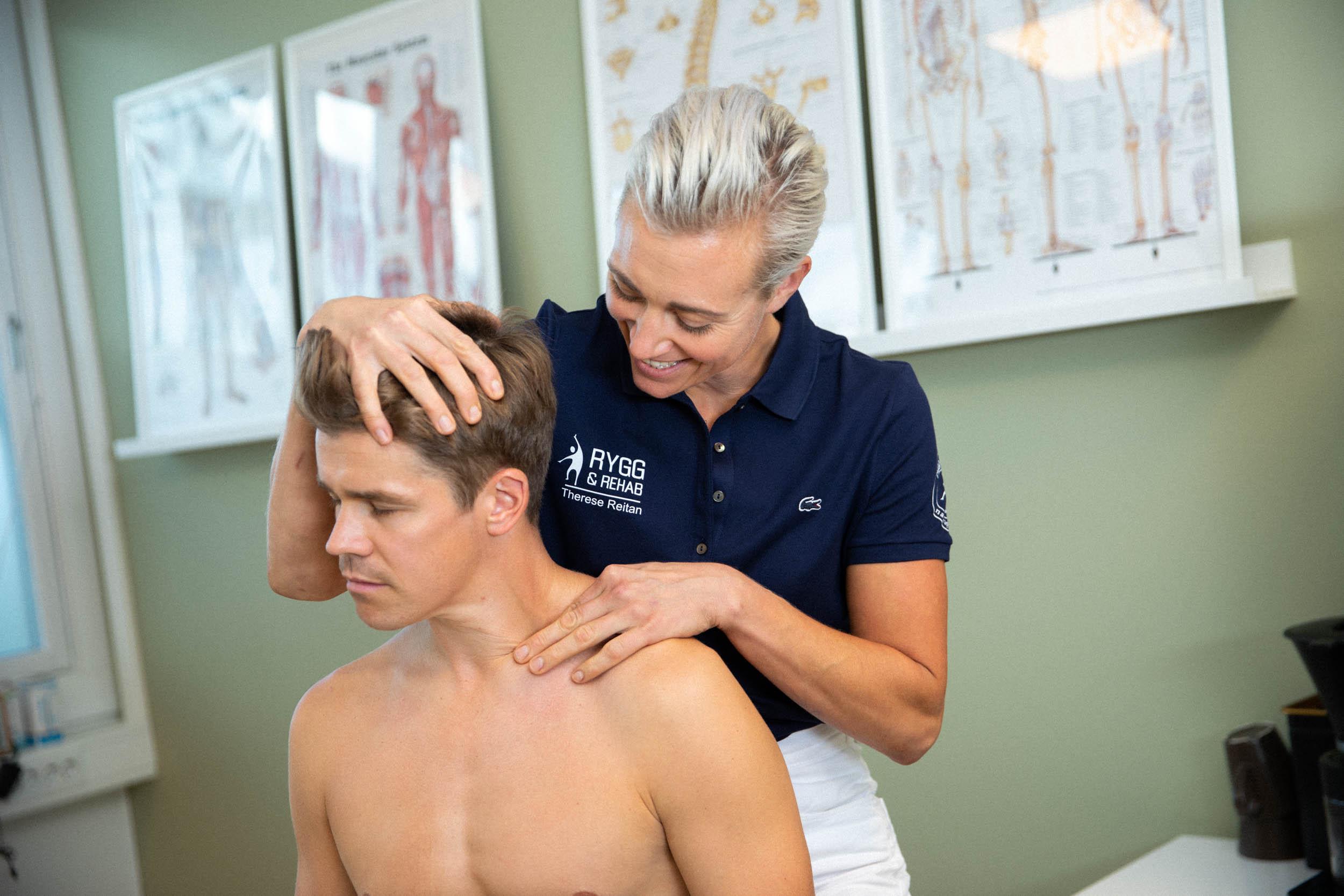 nakke og kjeve behandling