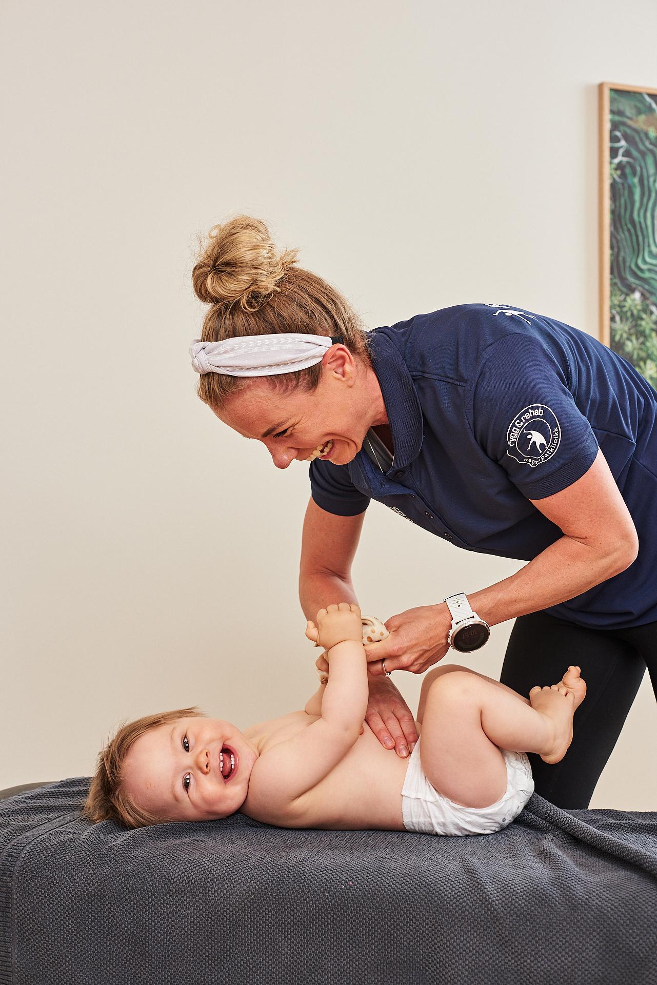 Behandling av barn kiropraktor