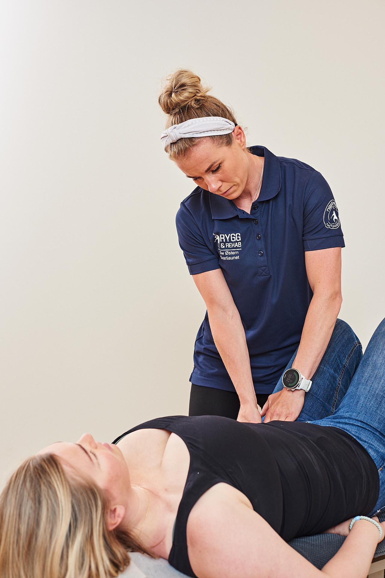 Behandling gravid kiropraktor