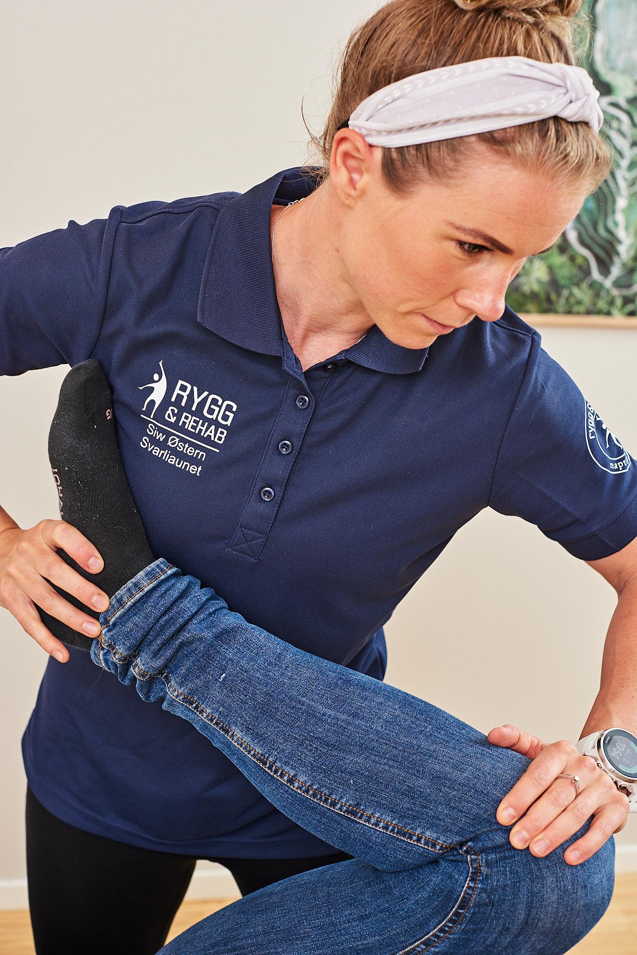 Undersøkelse behandling kne kiropraktor