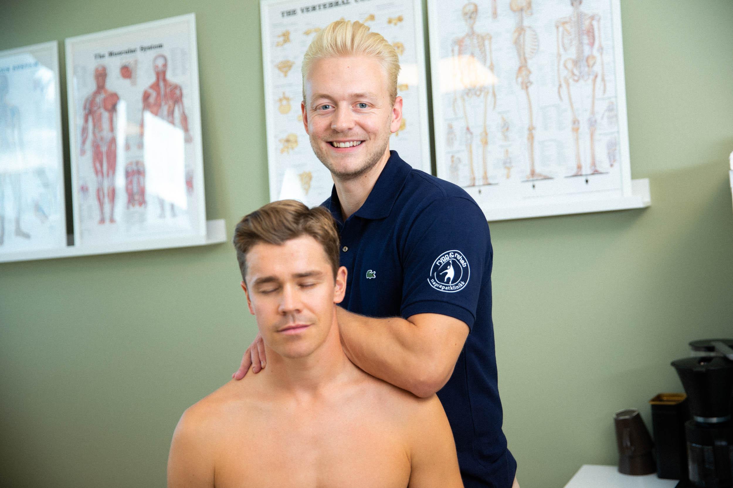 skulder og nakke behandling osteopat